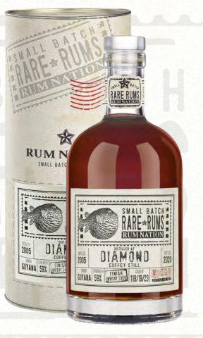 Rum Nation Diamond SV Whisky Finish 2005-2020