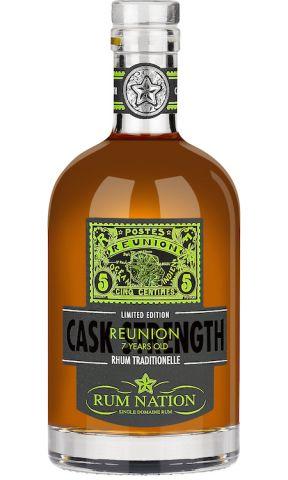Rum Nation Reunion  7yo Cask Strength