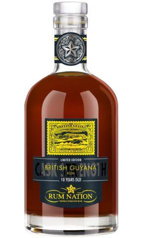 Rum Nation British Guayana 10 YO Cask Strength